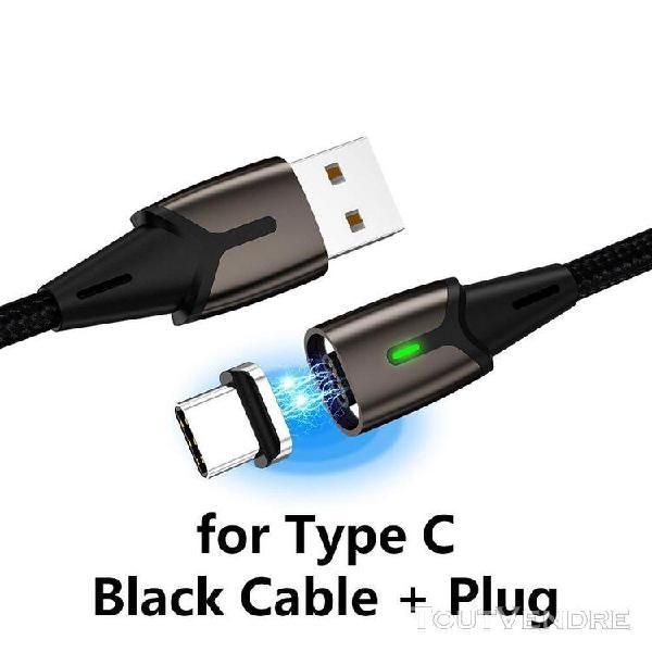 Taille 1m - câble zrse de chargeur aimanté micro usb et