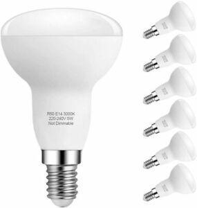 Ampoule led e14 lampe, blanc chaud 3000k, r50 5w (40w