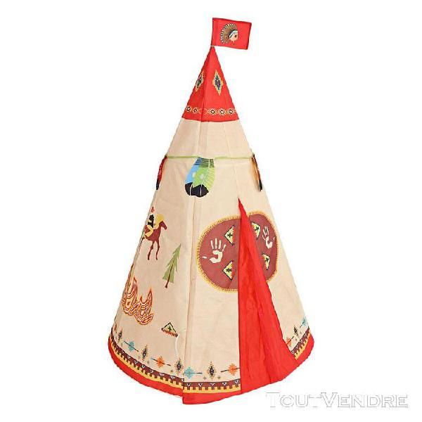 Tente de jeu de tente de tipi conique pour enfants pliable p