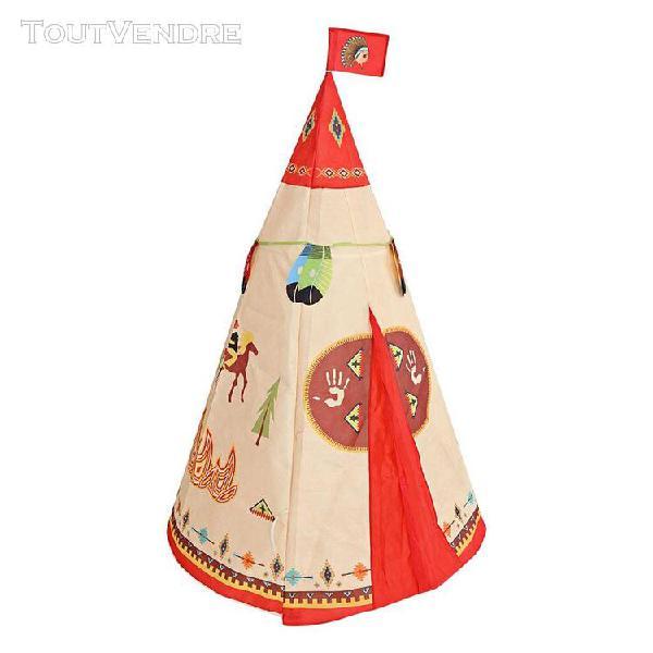 Tente pliable en forme de cône indien tente de jeu