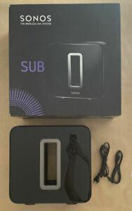 Sonos sub noir (subgbeu1)