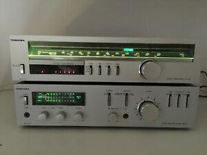 Superbe toshiba sb-a25 stereo receiver + st-t25l /
