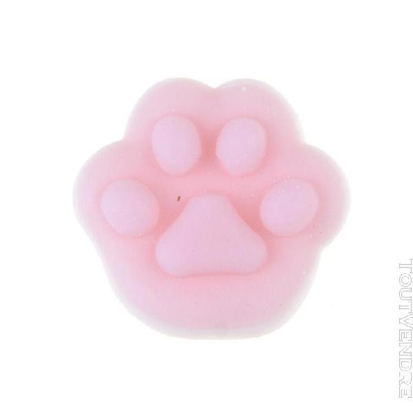 3cm couleur mini mochi de squishy kawaii, anti-stress, chat