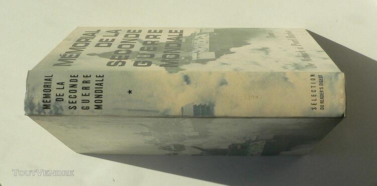 Mémorial de la seconde guerre mondiale en 3 volumes -50%