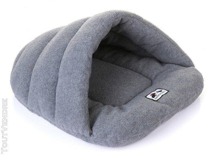 Pantoufles chaudes d'hiver pour animaux de compagnie, style