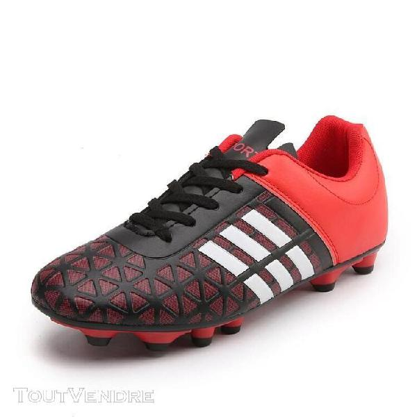1610 rouge-41] chaussures de football de gazon de crampons