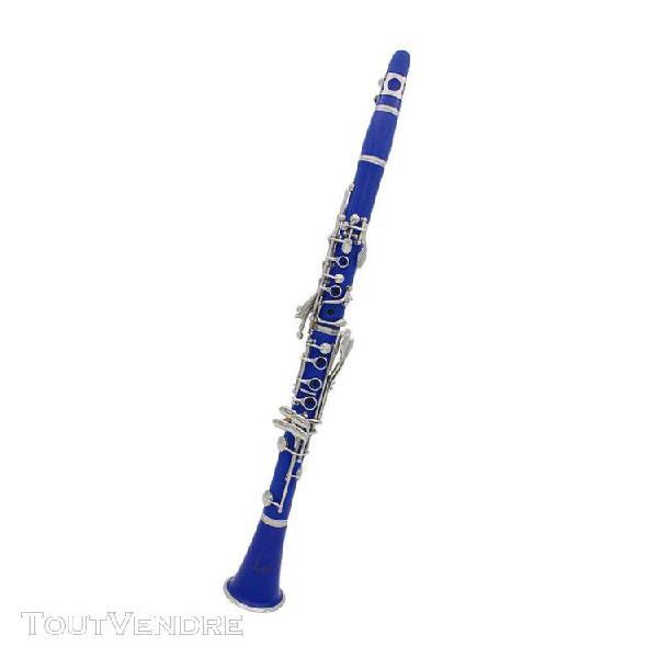 17 clés clarinette débutant clarinette corps nickelé