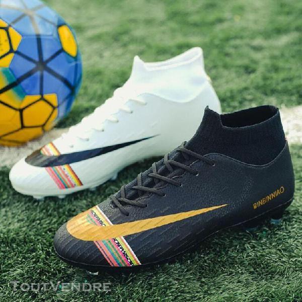 blanc noir-173-39] football chaussures de football À