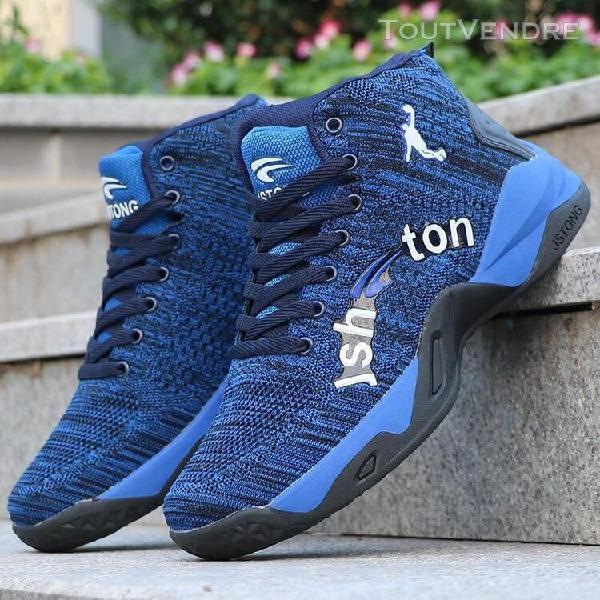 bleu-8,5] chaussures de sport de la culture du basket-ball