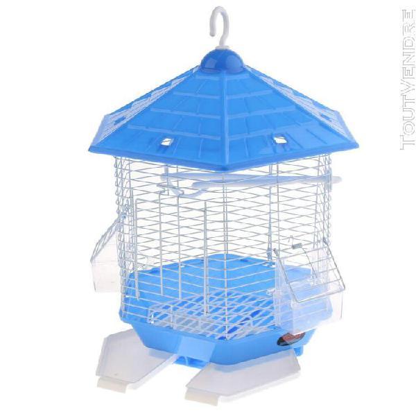 cage À oiseaux avec mangeoires perchoirs cage pour canaris