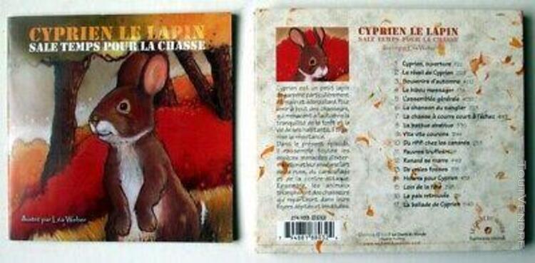 Cd - cyprien le lapin / sale temps pour la chasse