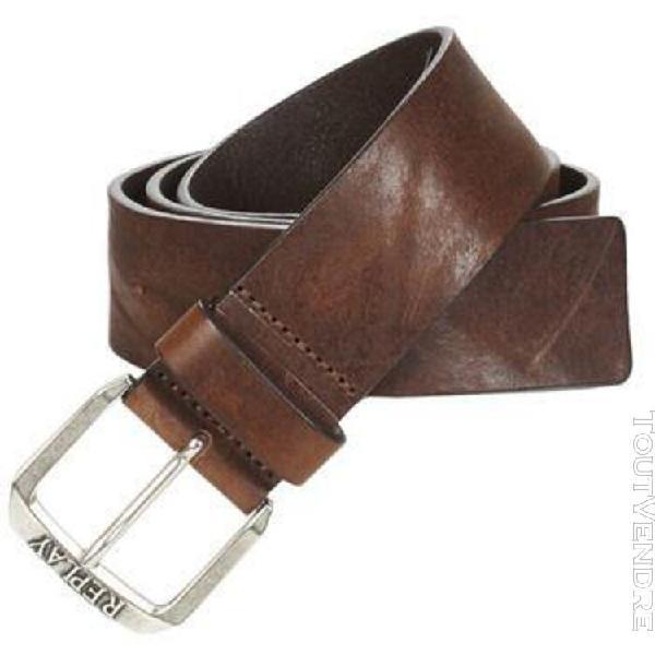 ceinture replay am2515-a3077 marron