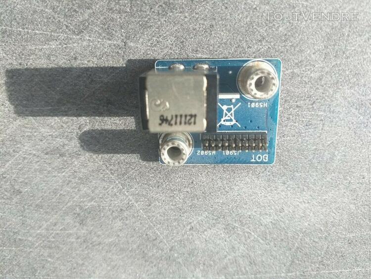 Connecteur charge alimentation dc jack asus rog g75vx ou vw