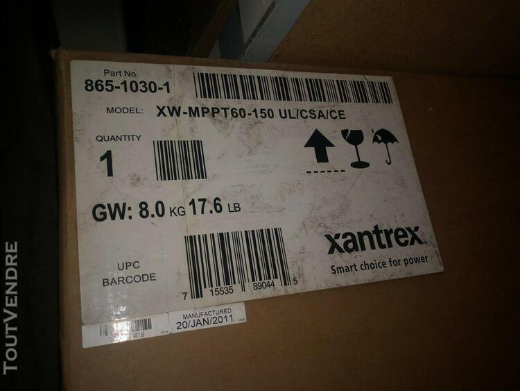 Contrôleur de charge solaire mppt xantrex xw mppt60-150 60