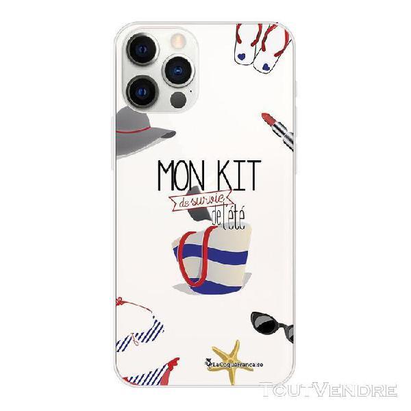 coque iphone 12 pro max 360 intégrale transparente mon kit