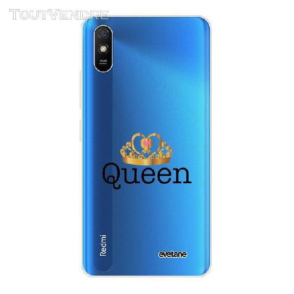 coque xiaomi redmi 9a 360 intégrale transparente queen