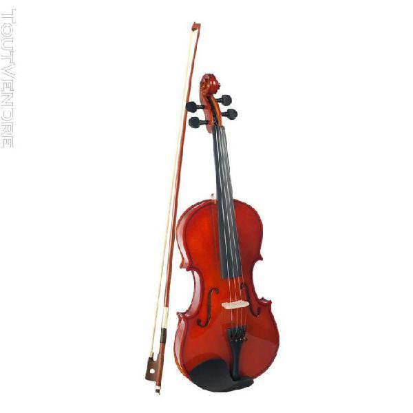 ensemble 1/2 violon naturel pour Étudiant débutant avec