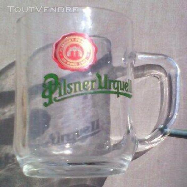 grande chope à bière / verre / pilsnerurquell: 0,50 litre