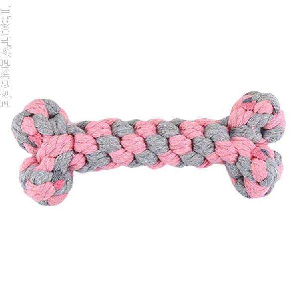 jouet de corde de coton boule de nettoyage de dent molaire o
