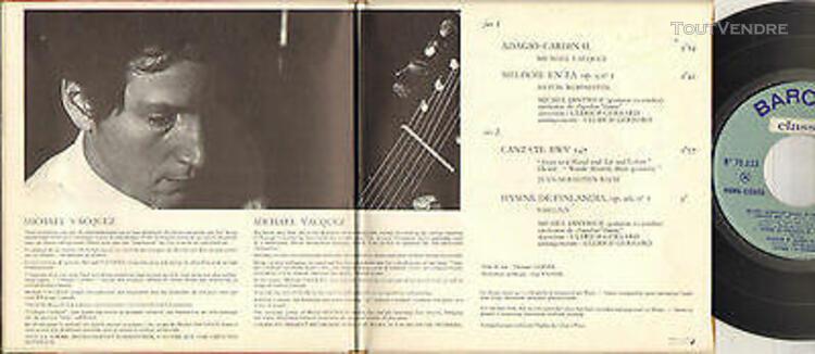 "Michel dintrich ""adagio cardinal"" guitare classique 60's ep"