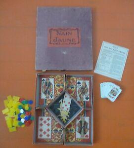 Nain jaune jeu de société jeu cartes ancien traditionnel