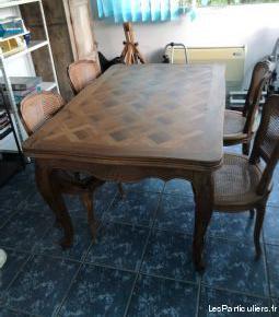 table à rallonges