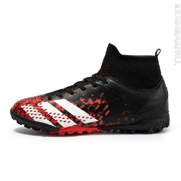 turf noir-8,5] chaussures de football pour hommes, baskets