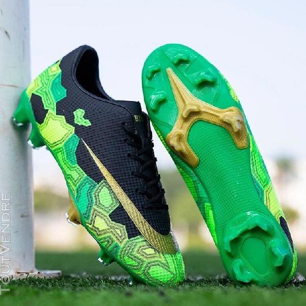 vert-40] chaussures de football en plein air, chaussures de