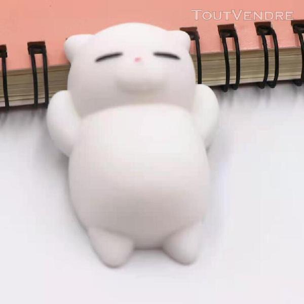 Couleur f pack de mochi squishy jouets, kawaii, anti-stress,