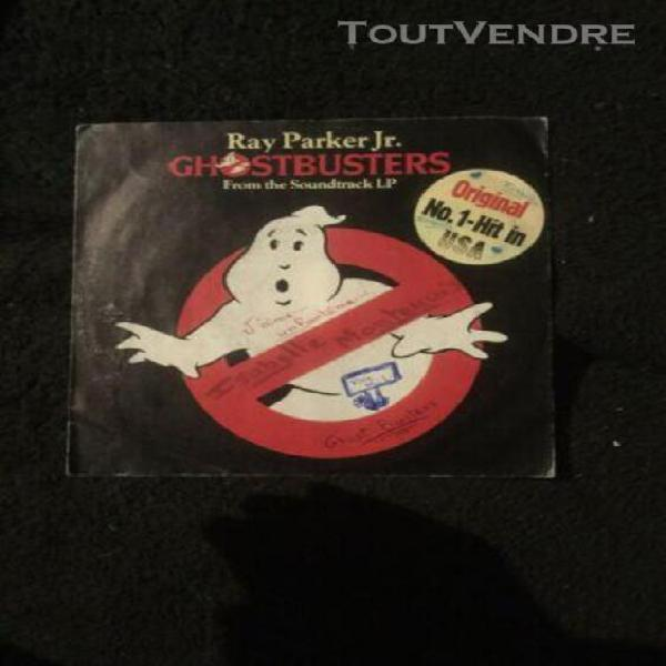 Disque ray parker jr. ghostbusters from the soundtrack lp