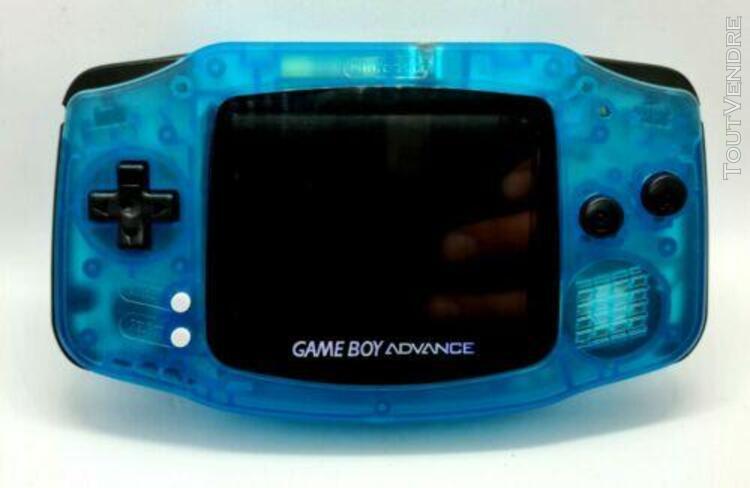 Game boy advance nintendo gba mod écran ips v2 édition
