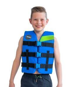 Gilet enfant 30-40kg 50n - jobe nylon vest youth blue 2020