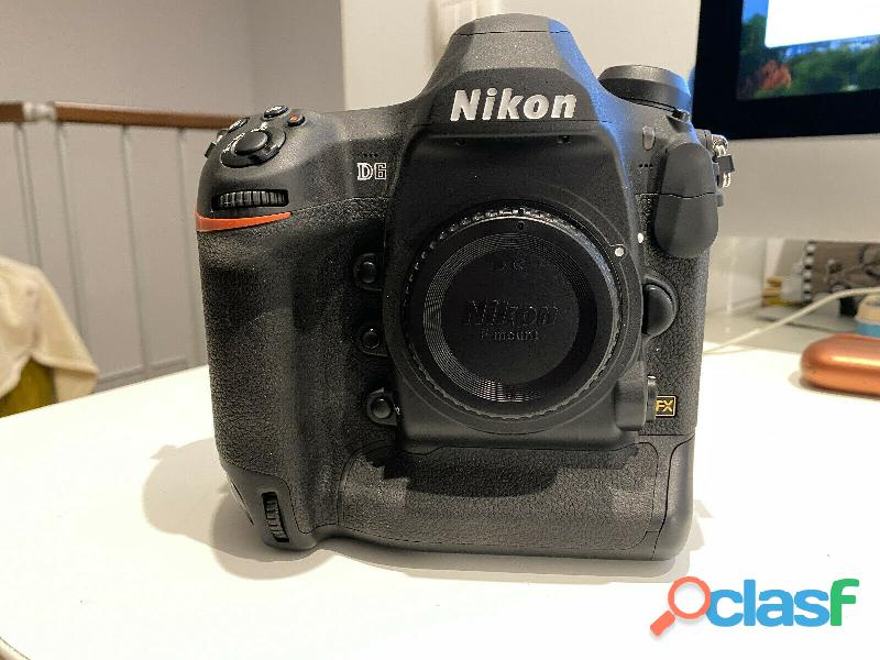 NIKON D6   3.500 clis + Garantie Nikon Europe