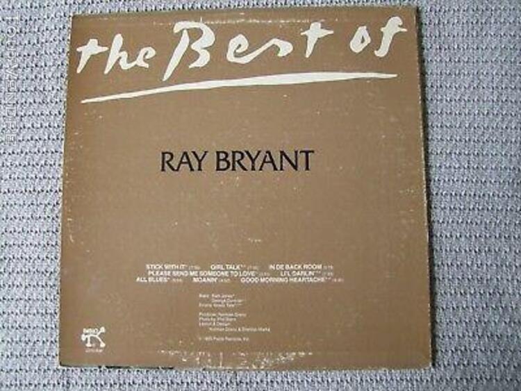 Ray bryant best of lp 33t jazz press us 2310-846 vg+/v