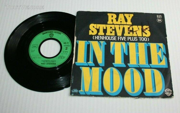 Ray stevens 45 tours in the mood wb 16 875 de 1976