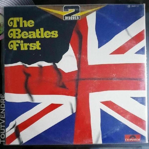Beatles 2lp/33tours -the beatles first- vinyles nickels