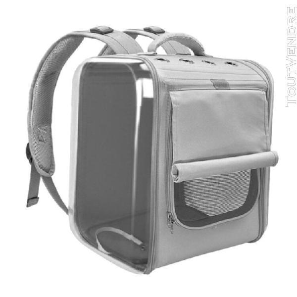 Pet sac à dos transporteur pour chiens chats chiots sac de
