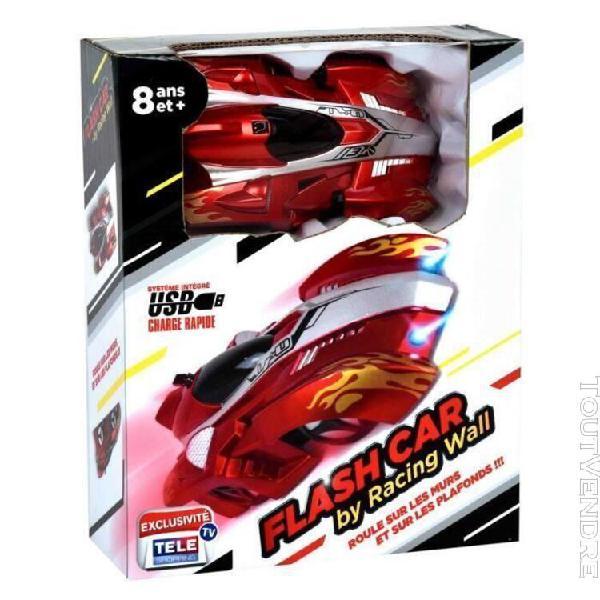 Flash car by racing wall ¿ la voiture télécommandée qui