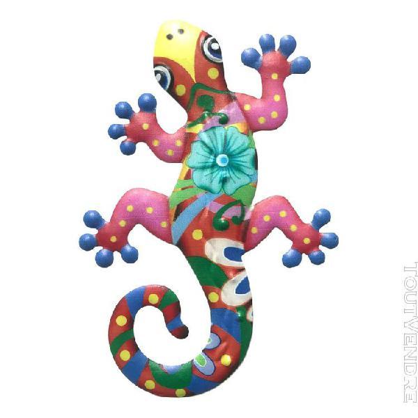 Gecko en métal mur art home decor élégant décorations