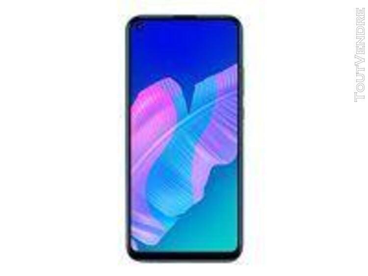 Huawei p40 lite e 64 go double sim bleu aurore (services goo