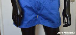 Short bleu avec strass taille xl