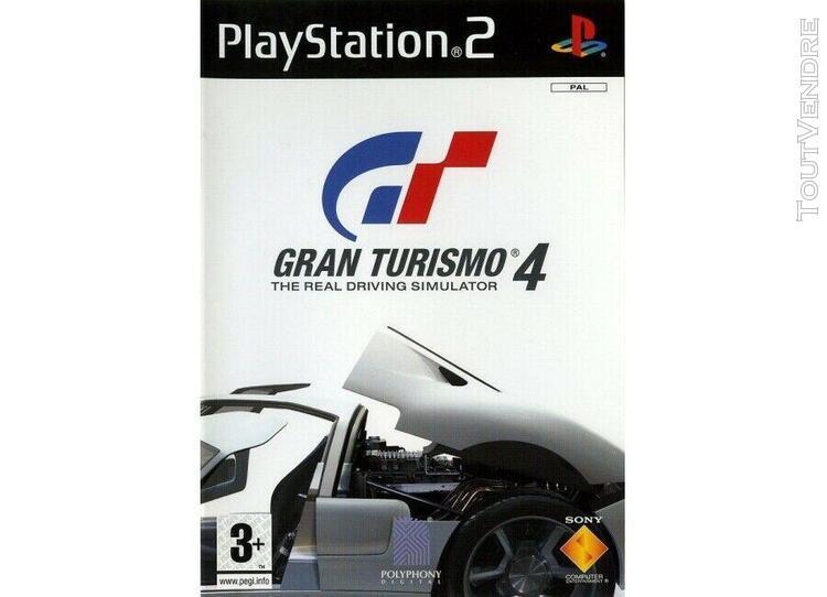Jeux vidéo gran turismo 4 playstation 2 (ps2) 711719656210