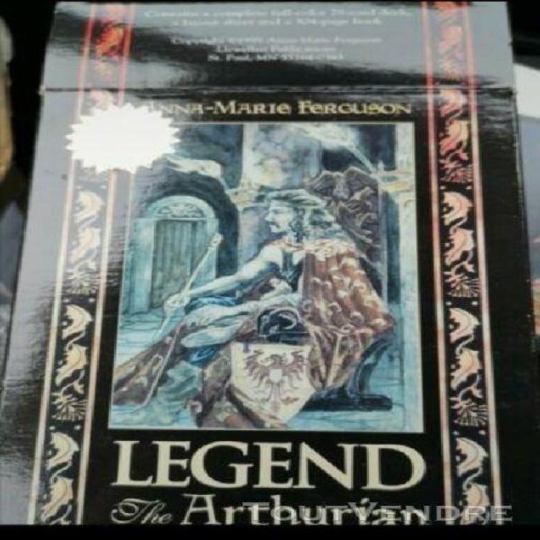 Legend kit the arthurian tarot 1998 anna-marie ferguson llew