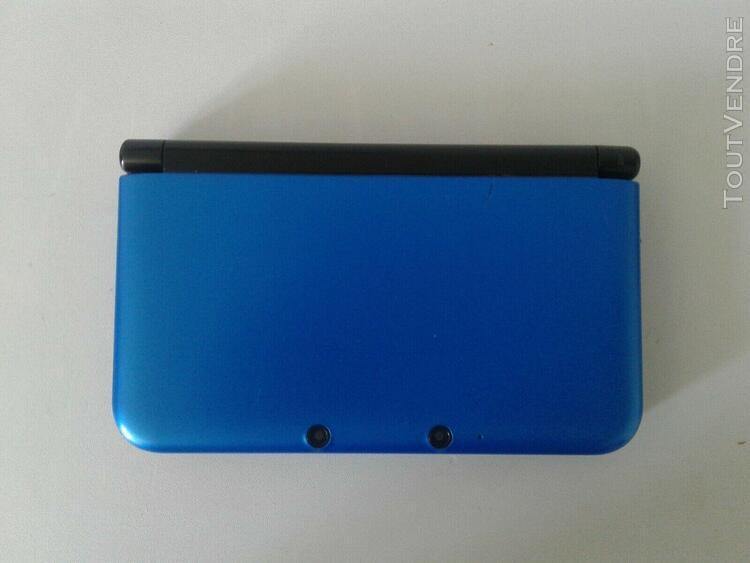 Nintendo 3ds xl console portable bleu tres bonne état car