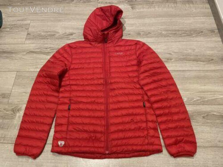 Veste à capuche en duvet synthétique cimalp primaloft®