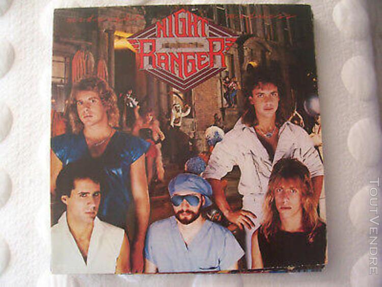 "Night ranger "" midnight madness "" mca 250 581.1 1983 (lp"