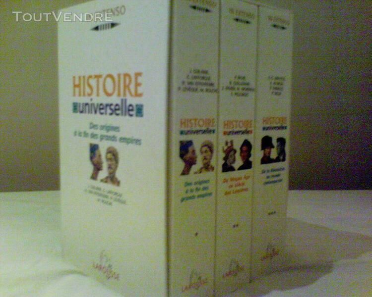 Histoire universelle coffret 3 volumes - volume 1, des origi