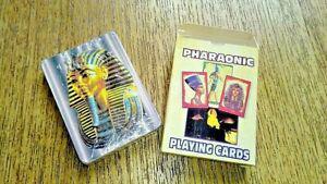 Jeux de 54 cartes différentes pharaonic egypte - neuf sous