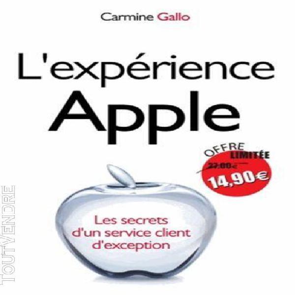 L'expérience apple - les secrets d'un service client