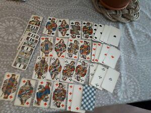 Tarot ancien suisse complet muller bourgeois 1900